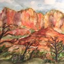 Sprout, Sedona I watercolor