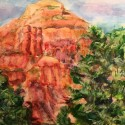 Sprout, Sedona II watercolor